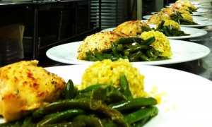 Chicken Cordon Bleu with Green Beans and Rice Pilaf - Chesapeake Conference Center
